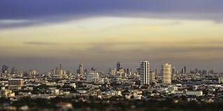 Vista a Bangkok Immagine Stock Libera da Diritti