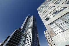 Grattacieli New York degli edifici per uffici Immagini Stock