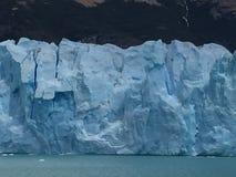 Vista, bella vista spettacolare, ghiacciaio, mare del ghiaccio Fotografie Stock Libere da Diritti