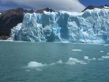 Vista, bella vista spettacolare, ghiacciaio, mare del ghiaccio Immagine Stock Libera da Diritti