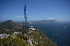 Vista below Cape Point Royalty Free Stock Image