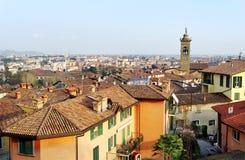 Vista a Bergamo. Fotografia Stock Libera da Diritti