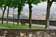 Vista a Bergamo Fotografia Stock Libera da Diritti