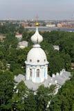 Vista Bird's-eye di St Petersburg Fotografia Stock Libera da Diritti
