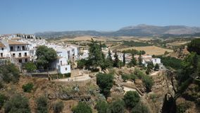 Vista bonita andaluza Foto de Stock Royalty Free