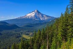 Vista bonita da capa da montagem em Oregon, EUA. imagens de stock