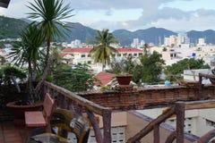 Vista bonita da cidade Fotos de Stock