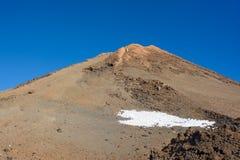Vista bonita da montanha de Teide Tenerife, Ilhas Canárias Imagem de Stock