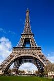 Vista bonita da torre Eiffel em Paris Foto de Stock
