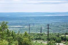 Vista bonita das montanhas, cenário bonito foto de stock royalty free