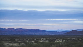 Vista bonita das montanhas no parque nacional de curvatura grande foto de stock
