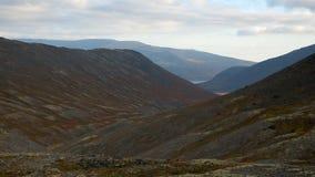 Vista bonita das montanhas, Rússia imagem de stock royalty free