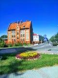 Vista bonita de Kaliningrad Rússia imagem de stock