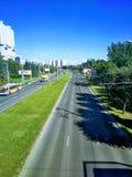 Vista bonita de Kaliningrad Rússia foto de stock