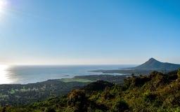Vista bonita de Maurícias Fotos de Stock