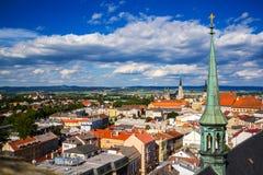 Vista bonita de Olomouc, República Checa Fotografia de Stock