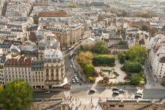 Vista bonita de Paris Fotos de Stock Royalty Free