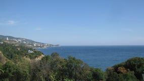 Vista bonita do mar foto de stock