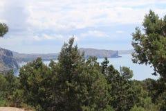 Vista bonita do mar foto de stock royalty free