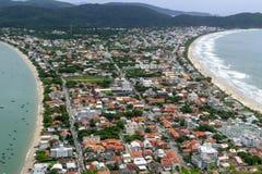 Vista bonita do monte do macaco em Brasil imagem de stock