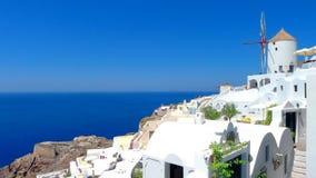 Vista bonita do santorini fotografia de stock royalty free