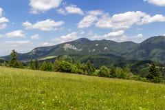 Vista bonita em Velky Choc, Eslováquia imagem de stock royalty free