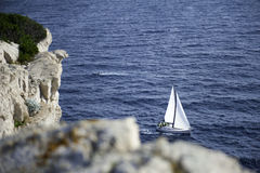 Vista bonita na Croácia de Cornati Fotos de Stock Royalty Free