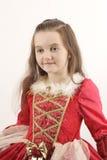 Vista bonita pequena da menina Fotos de Stock Royalty Free