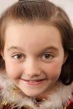 Vista bonita pequena da menina Foto de Stock