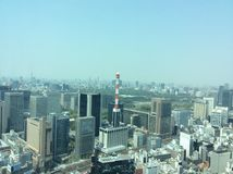 Vista bonita sobre o Tóquio! Fotografia de Stock