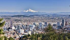 Vista bonito de Portland, Oregon Foto de Stock Royalty Free