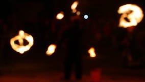 Vista borrada, mostra do fogo filme