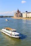 Vista a Budapest el 24 de julio de 2014 Imagen de archivo libre de regalías