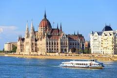 Vista a Budapest el 24 de julio de 2014 Imagenes de archivo