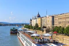 Vista a Budapest il 24 luglio 2014 Immagine Stock Libera da Diritti
