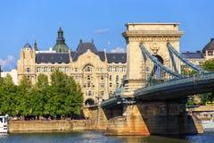 Vista a Budapest il 24 luglio 2014 Fotografia Stock Libera da Diritti
