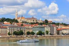 Vista a Budapest o 24 de julho de 2014 Imagem de Stock Royalty Free