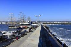 Vista Bulgaria della città di Varna Fotografie Stock