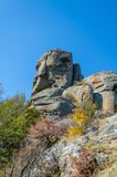 Vista cénico de Demerdji ao vale de Alushta crimeia Imagem de Stock Royalty Free