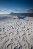 Dunas de areia Rippled imagem de stock