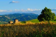Vista cénico em Italy imagens de stock