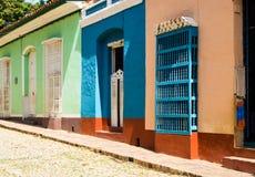Vista cênico da cidade de Trinidad Cuba Imagem de Stock Royalty Free