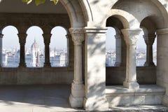 Vista cênico de Budapest, Hungria Fotos de Stock Royalty Free