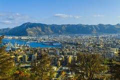 Vista cênico de Palermo, Itália Fotos de Stock