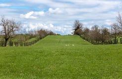 Vista cênico do campo rural fotografia de stock royalty free