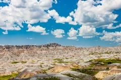 Vista cênico do ermo de South Dakota Fotos de Stock Royalty Free