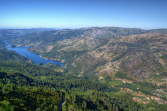 Vista cênico do parque nacional de Peneda Geres imagem de stock royalty free
