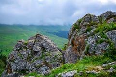 Vista cênico do prado da montanha Imagem de Stock Royalty Free