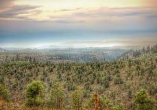 Vista cênico nas montanhas do Arizona Imagem de Stock Royalty Free
