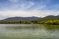 Vista calma do lago Fotografia de Stock Royalty Free